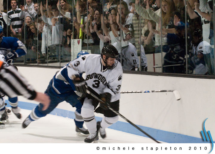 brunswick maine photographer bowdoin hockey