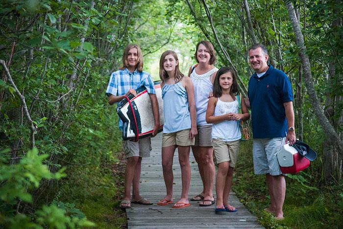 Family portrait photographer portland maine